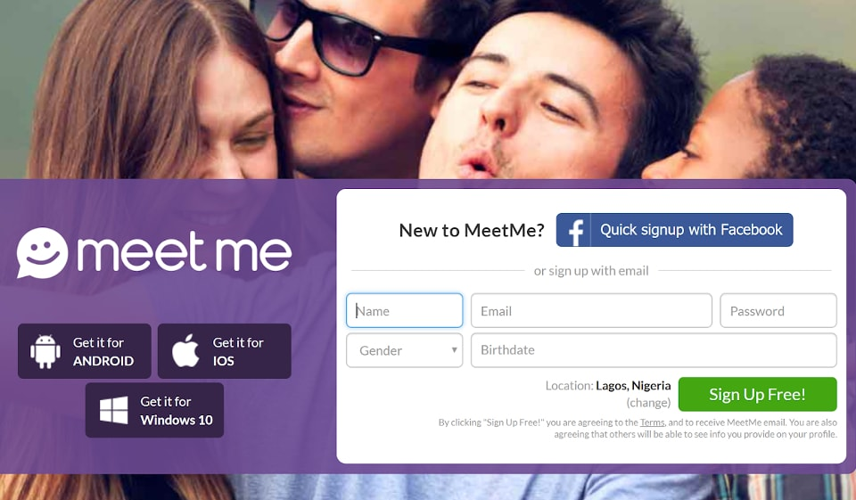 MeetMe Review: Online Dating with a twist